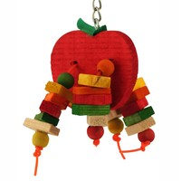 Apple Chewable Parrot Toy