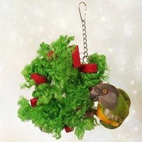 Sisal Holly Ring Parrot Toy