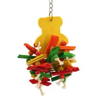 Teddy Chewable Parrot Toy