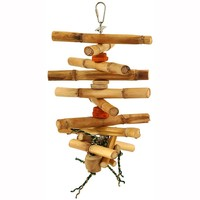 Spinning Husk - Large Natural Parrot Toy