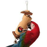 Lantern Surprise - Large Natural Parrot Toy