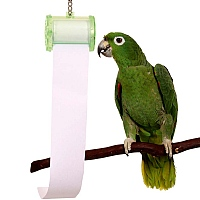 Shred It! Shredding Toy for Parrots & Paper Roll Refill