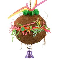 Coconut Craze - Reusable Foraging Toy for Parrots
