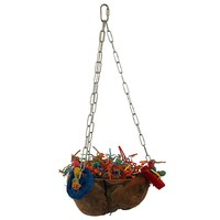 Coco Swing Foraging Bowl Parrot Toy