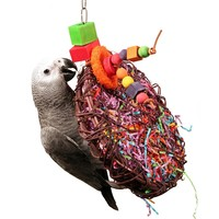 Fun Foraging Disc Parrot Toy
