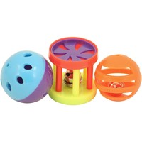 Kings Roll & Ring Foot Toys for Parrots