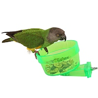 Quick-Lock Crock - Large- Locking Parrot Feeding Bowl
