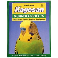 Kagesan Sanded Sheets Number 4 Green 33x25cm (13x10