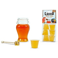 Fruit Cups Honey - Jelly Parrot Treats 6pk
