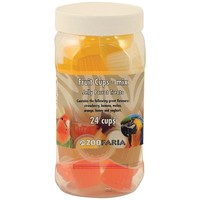Assorted Fruit Cups - Jelly Parrot Treats - Tub of 24