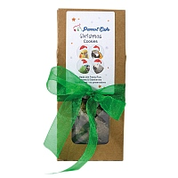 Parrot Cafe Banana Cookie Christmas Parrot Treat - 100g