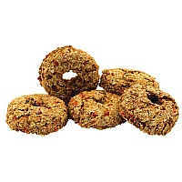 Parrot Café Carrot Donut Parrot Treats - 5 Pack