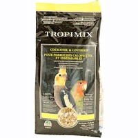 Hagen Living World Tropimix Lovebird & Cockatiel Food 908g