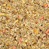J&J Premium Husk & Wheat Free with Suet Wild Bird Food