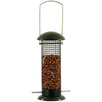 Johnston & Jeff Metal Peanut Feeder - Green