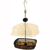 Johnston & Jeff Hanging Basket Feeder with Rain Cover Lid