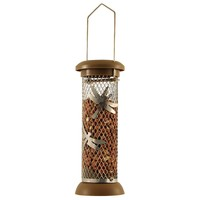 Funky Wild Bird Peanut Feeder - Choice of 2 Colours