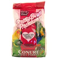 Pretty Bird Premium No Sunflower Seed Mix for Small Parrot
