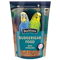 Bucktons Budgie Food with Spiralife