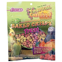 Brown`s Baked Fruit and Veggie Bites Parrot Treats