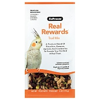 ZuPreem Real Rewards Trail Mix for Medium Parrots - 6oz
