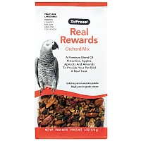 ZuPreem Real Rewards Orchard Mix for Large Parrots - 6oz
