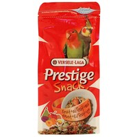 Prestige Snack for Big Parakeets - Fruit & Egg - 125g