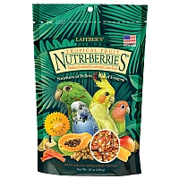 Lafeber NutriBerries Tropical Fruit Cockatiel Food 284g