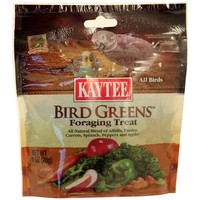 Kaytee Bird Greens Foraging Treat - 28g (1oz)