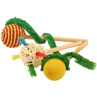 Polly Pops Foot Toys for Small Parrots - Pack of 3