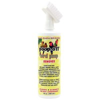 Poop-Off Bird Clean-Up Liquid With Brush Top - 16oz
