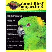 Good Bird Magazine - Volume 3 Issue 3 - Fall 2007