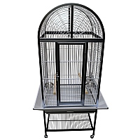 King`s Cages Model ACA2522 Arch Top Aluminium Parrot Cage