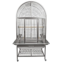 King`s Cages Model ACA3325 Arch Top Aluminium Parrot Cage