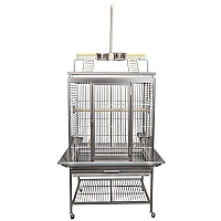 King`s Cages Model ACP2522 Playpen Top Aluminium Parrot Cage