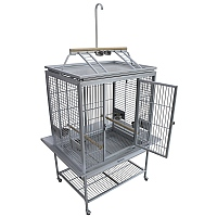 King`s Cages Model ACP3325 Play Top Aluminium Parrot Cage