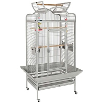Voyager Open Top Parrot Cage - Stone
