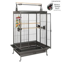 Canterbury Parrot Cage - Antique