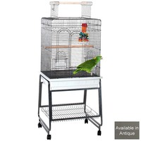 Carlisle Parrot Cage - Antique