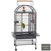 Lincoln Top Opening Parrot Cage - Antique
