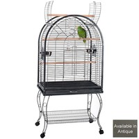Columbus Dome Top Opening Parrot Cage - Antuque