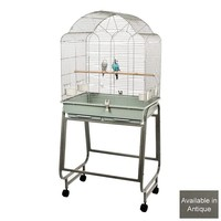 Brasil 1 Parrot Cage and Stand - Antique