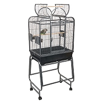 Mini Santa Fe Top Opening Parrot Cage with Stand - 2 Colours