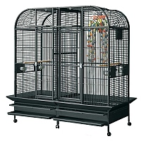 Castello Large Parrot Cage with Divider - 2 Colours