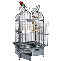 Ara 2 - Top Opening Parrot Cage with Removable Playstand