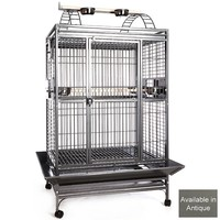 Rio Grande Play Gym Top Parrot Cage - Antique