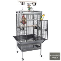 Victoria Play Gym Top - Parrot Cage - Antique