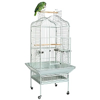 Eagle Open Top Parrot Cage - Antique