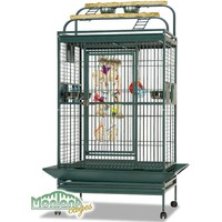 Montana Hacienda Play Gym Top Parrot Cage