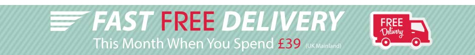 FREE UK Delivery when you spend �39